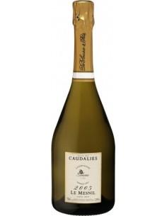 Champagne Extra Brut Cuvée des Caudalies Grand Cru 2005 Le Mesnil de Sousa
