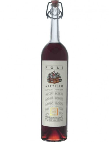 Grappa di Mirtillo Poli
