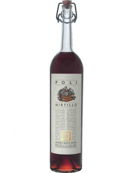 Grappa di Mirtillo Poli 50cl