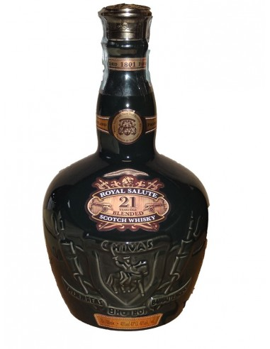 Whisky Royal Salute 21 anni Green Decanter