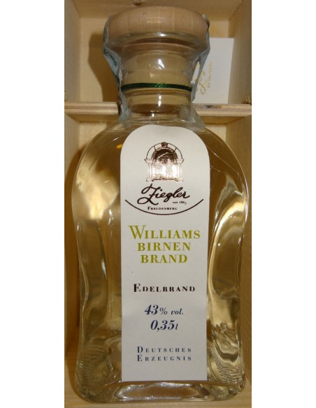 Distillato di Pere Williams - Williams Birnen Brand Ziegler cl. 35