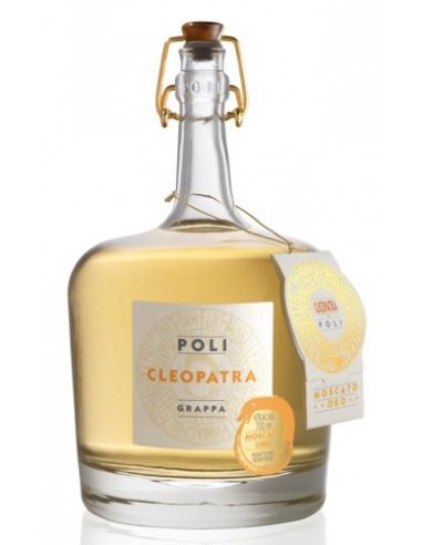 Grappa Cleopatra Moscato Oro Poli