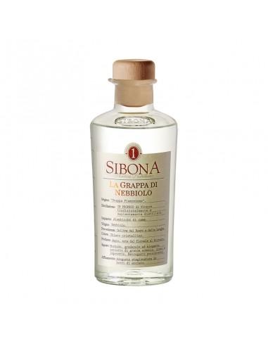 Grappa di Nebbiolo Distillerie Sibona cl 50