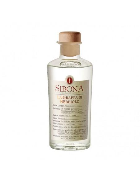 Grappa di Nebbiolo Distilleria Sibona cl 50