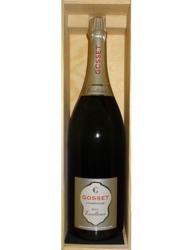 Champagne Excellence Brut Gosset Jeroboam