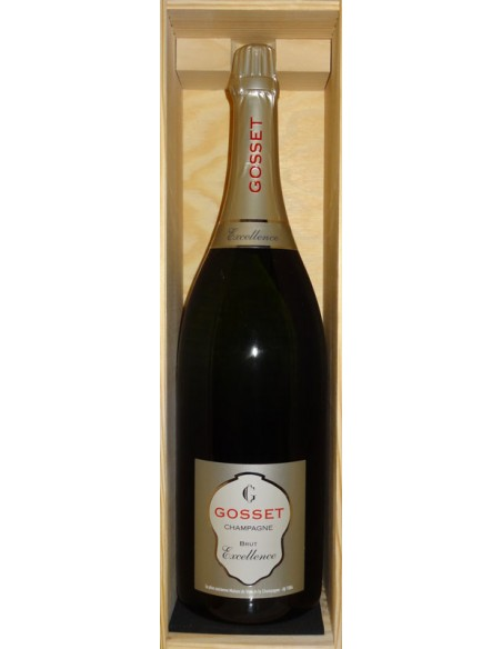 Jeroboam Champagne Excellence Brut Gosset