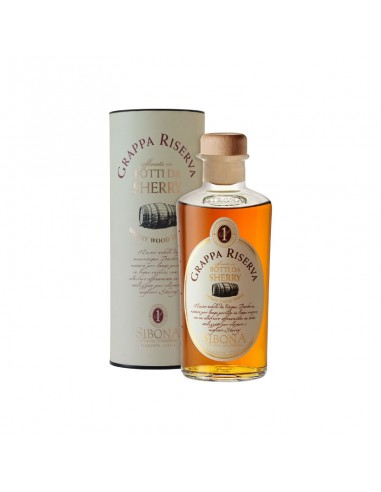 Grappa Riserva Botti da Sherry Distillerie Sibona cl 50