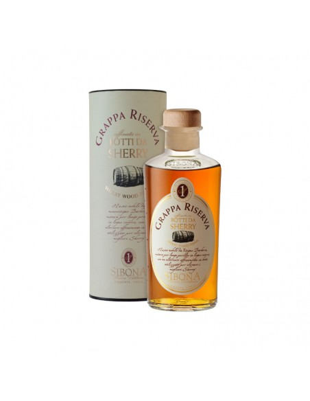 Grappa Riserva Botti da Sherry Distilleria Sibona cl 50