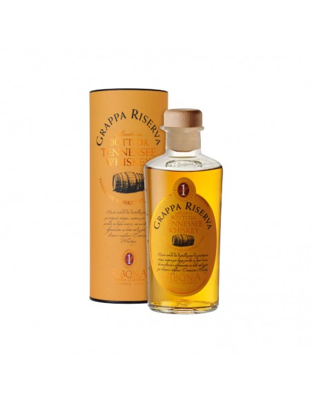 Grappa Riserva Botti da Tennessee Whiskey Distilleria Sibona cl 50