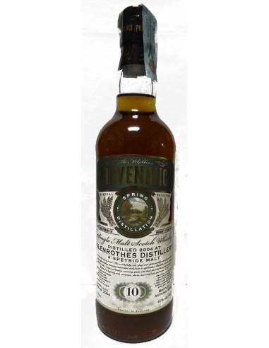 Whisky Glenrothes 10 anni Provenance Mc Gibbons