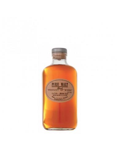 """Whisky Nikka Pure Malt Black Vattes Malt """"Smoky & Mellow"""" cl. 50"""