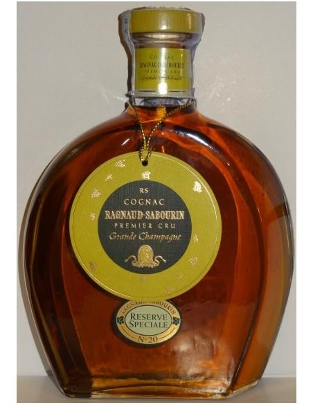 Cognac Ragnaud Sabourin Grande Champagne Premier Cru Reserve Speciale no 20