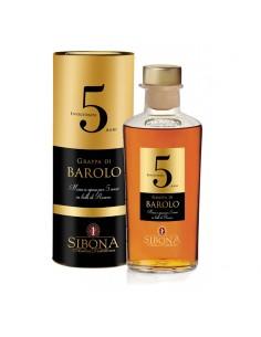 Grappa Riserva Barolo 5 anni  Distilleria Sibona
