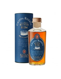 Grappa Riserva  Botti da Rum Distilleria Sibona cl 50