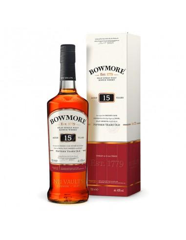Whisky Bowmore 15 anni