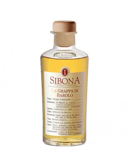 Grappa di Barolo Distilleria Sibona cl 50