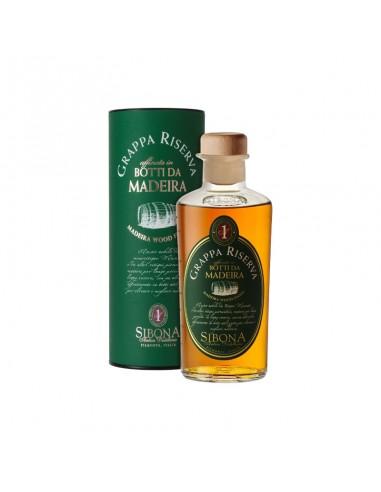 Grappa Riserva Botti da Madeira Distilleria Sibona cl 50