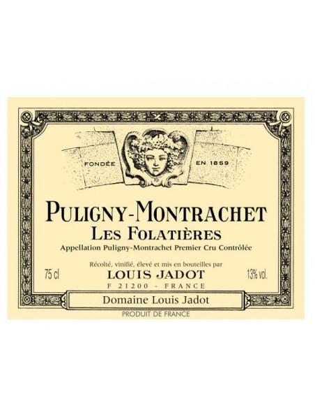 Puligny Montrachet 1er Cru Les Folatieres 2017 Louis Jadot