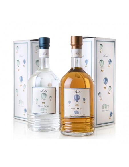 Grappa Villa Prato Invecchiata Distillerie Berta cl 100