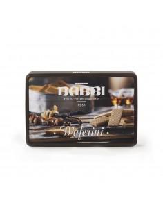 Waferini Piccoli Piaceri Cacao Vaniglia Latta gr. 250 Babbi