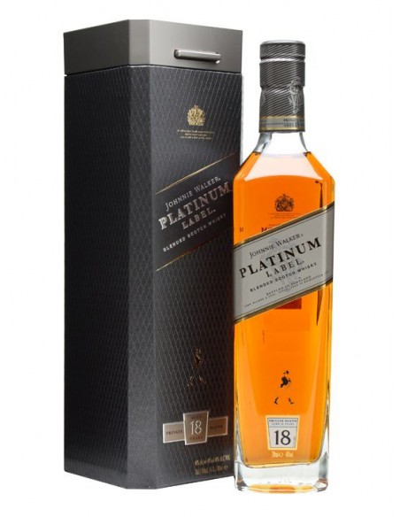 Whisky Johnnie Walker Platinum Label 18 anni