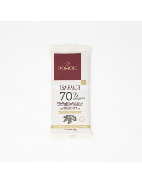 Tavoletta Fondente 70% 75 gr. Domori