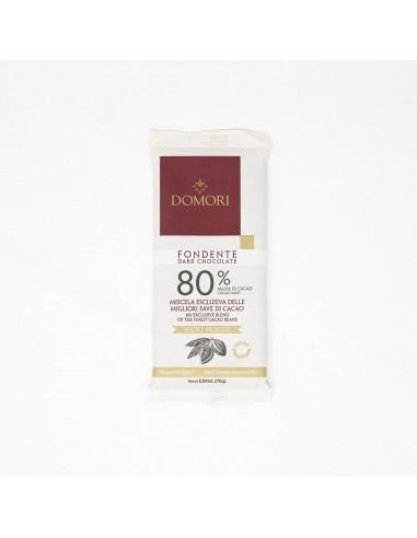 Tavoletta Fondente 80% 75 gr. Domori
