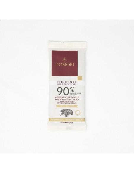 Tavoletta Fondente 90% 75 gr. Domori