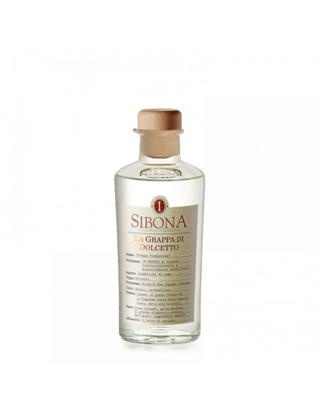 Grappa di Dolcetto Distilleria Sibona cl 50