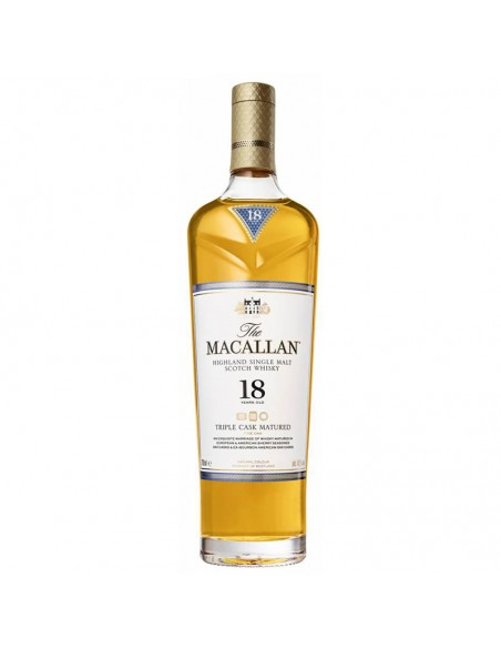 Whisky Macallan 18 anni Triple Cask