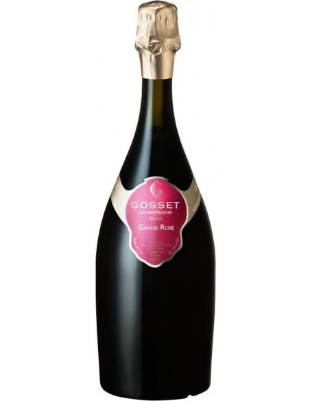 Magnum Champagne Grand Rose Brut Gosset