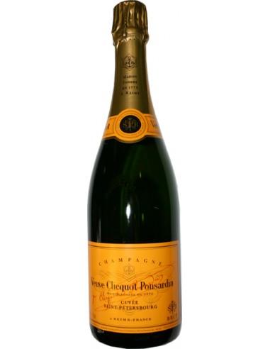 Champagne Cuvee Saint Petersbourgh Veuve Cliquot Ponsardin Magnum